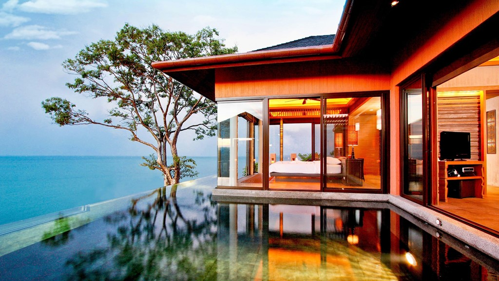Best hotel in phuket for Best house resort design