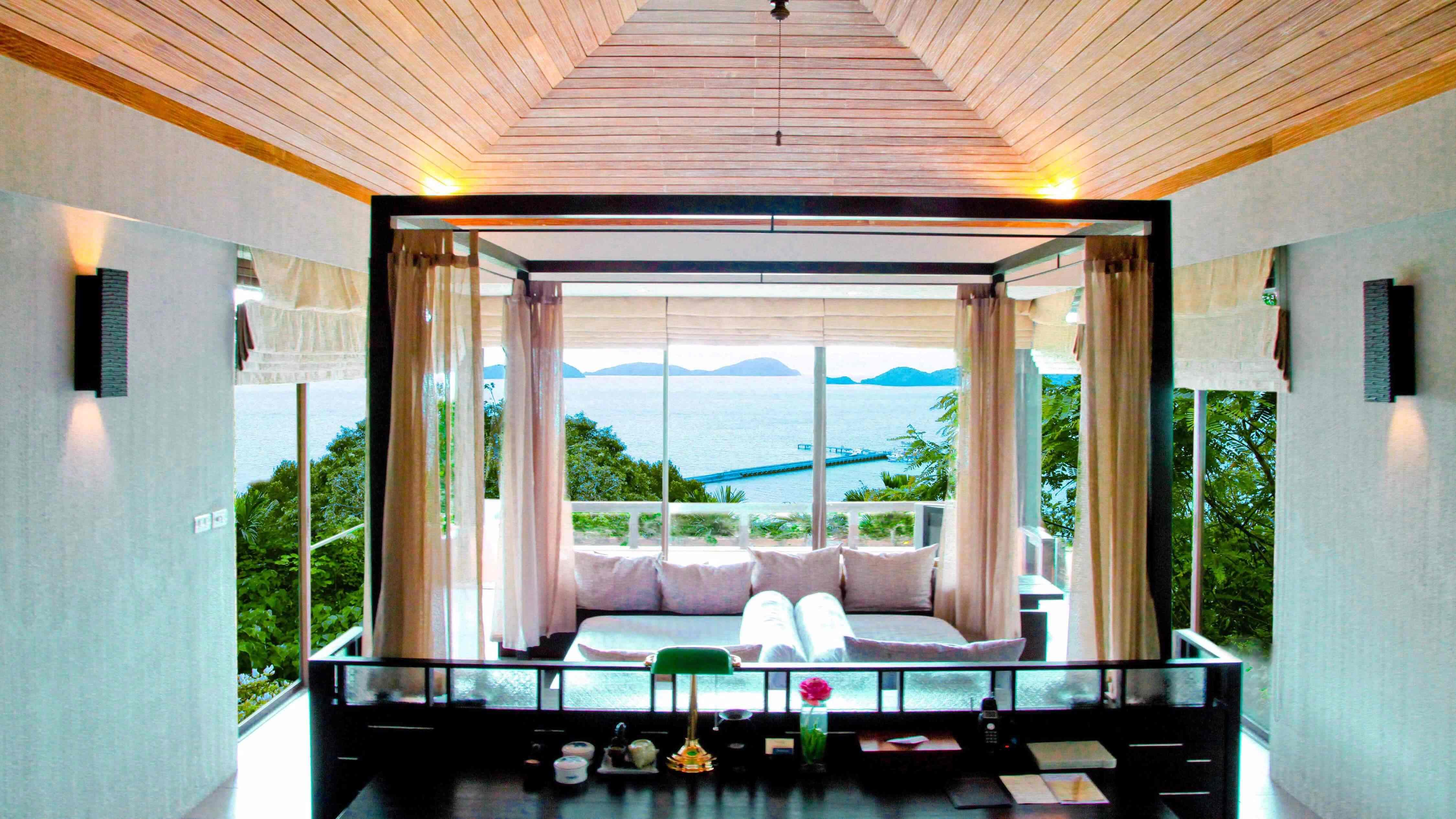 One bedroom luxury pool villa type b sri panwa phuket for Pool villa design