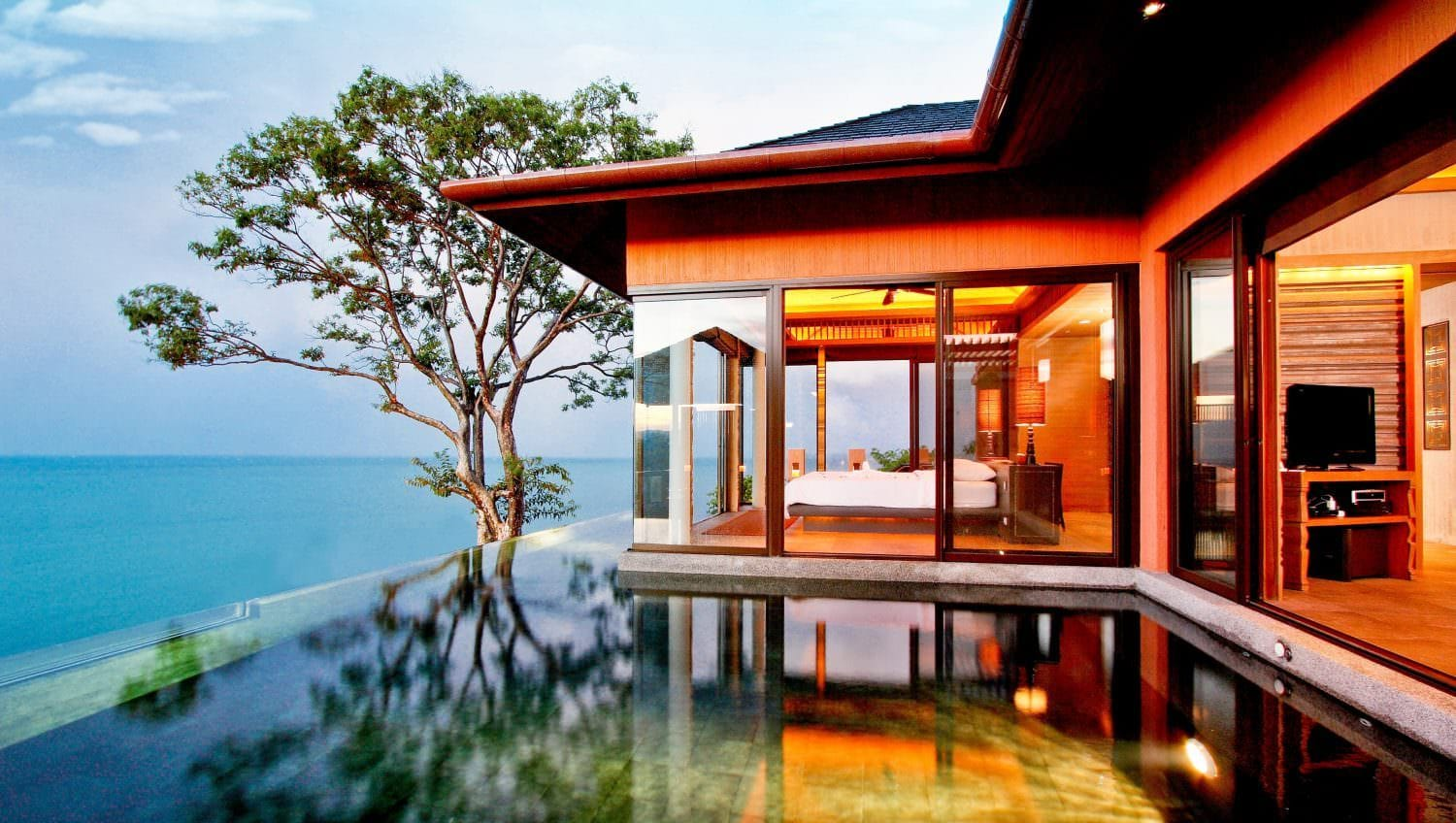 Sri panwa luxury pool villa resort spa Phuket Thailand
